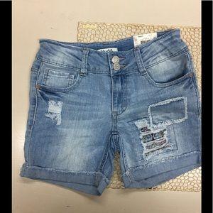 Mudd Girls midi shorts sz 10